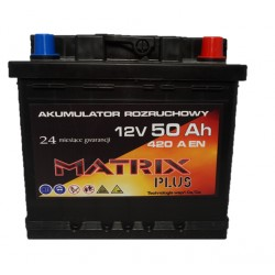 Akumlator MATRIX PLUS 40 Ah / 12V 175x175x190