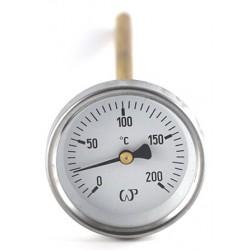 Termometr do wędzarni długo 200mm  63mm