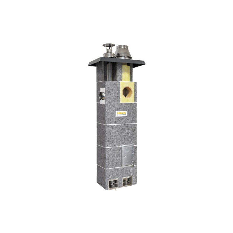 System kominowy HOCH DUO gaz  FI 180 8m