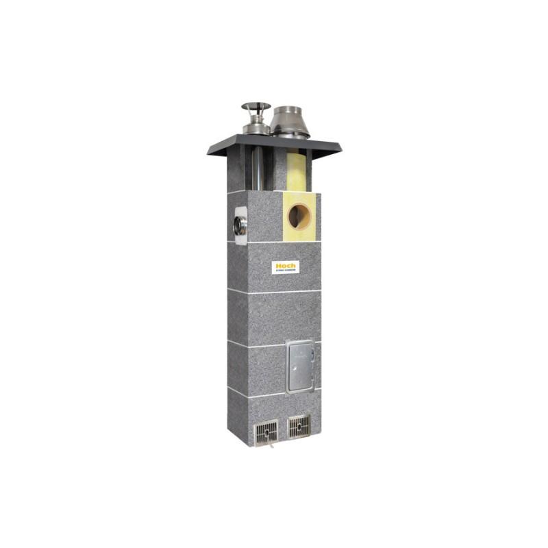 System kominowy HOCH DUO gaz  FI 180 7m