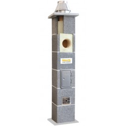 System kominowy ceramiczny HOCH UNIWERSAL FI 200 4mb