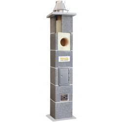System kominowy ceramiczny HOCH UNIWERSAL FI 200 8mb