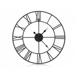 Zegar scienny kuty RETRO metalowy LOFT 82,5cm